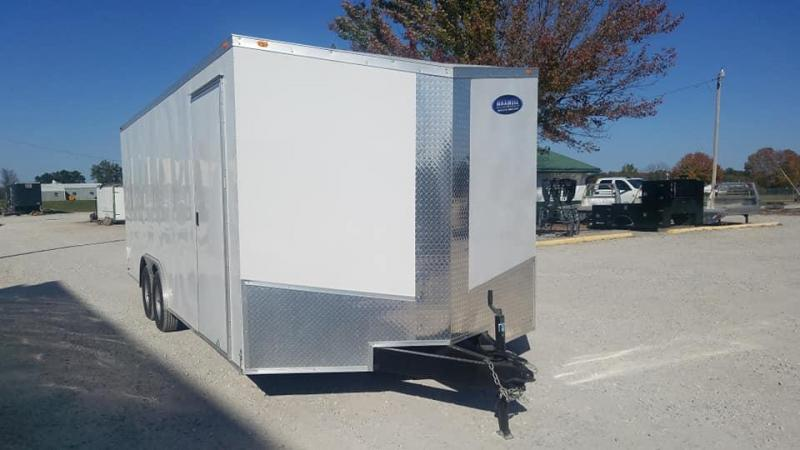 2020 Eagle Cargo TA Bumper Pull Enclosed Cargo Trailer