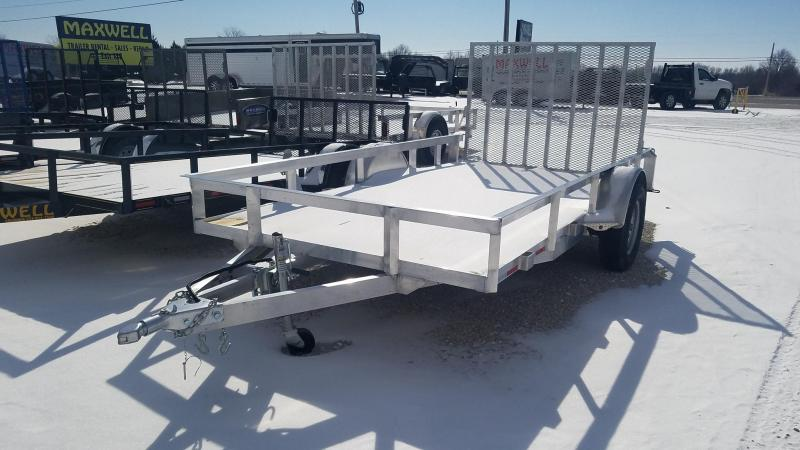 2021 Maxwell SA aluminum railed Utility Trailer