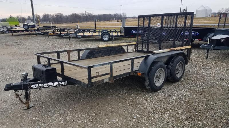 "2003 Maxwell Used 76""X12' Utility Trailer"