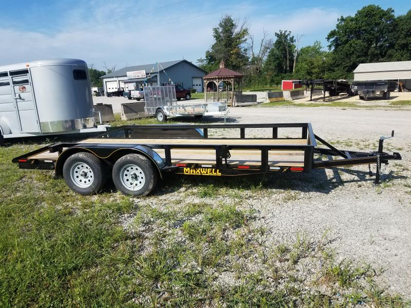 2020 Maxwell 83x16 deluxe Utility Trailer