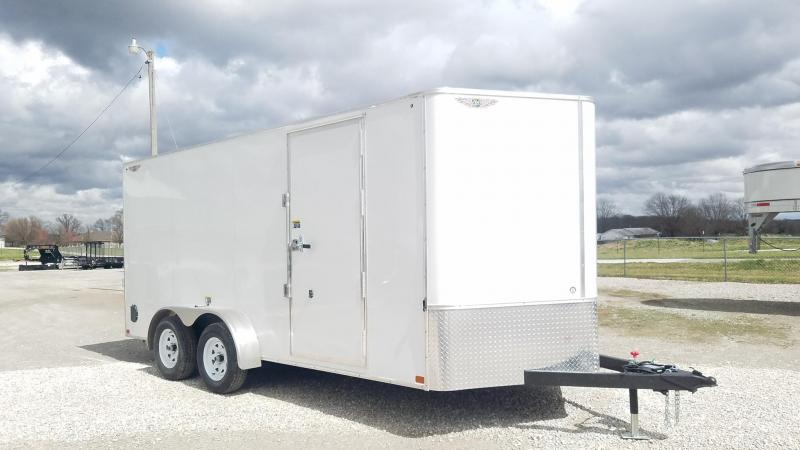 2021 H and H Trailer TA Enclosed Cargo Trailer