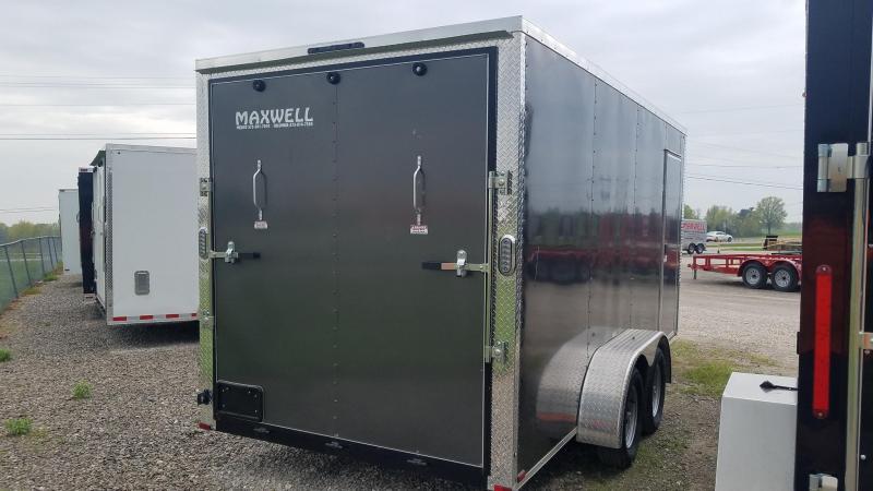 2021 Arising Tandem V nose Enclosed Cargo Trailer