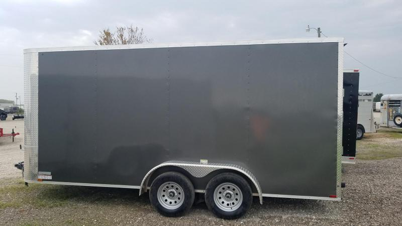 2021 Arising Tandem V nose Enclosed Cargo Trailer