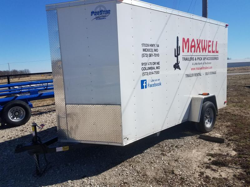 2019 Maxwell 6X12 Enclosed Cargo Trailer
