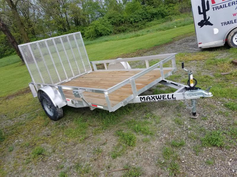 "2021 Maxwell 83""x12' Aluminum Utility Trailer"
