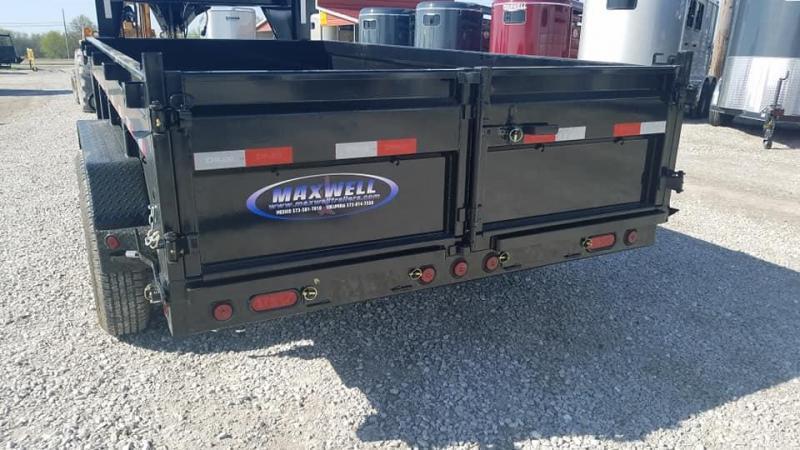 New Maxwell 83 x 16 14K Low Pro Gooseneck Dump Trailer***