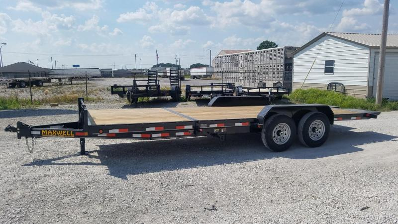 2021 Maxwell DC Tilit Flatbed Trailer