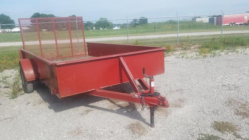 2014 Maxwell SA Solid Side Utility Trailer