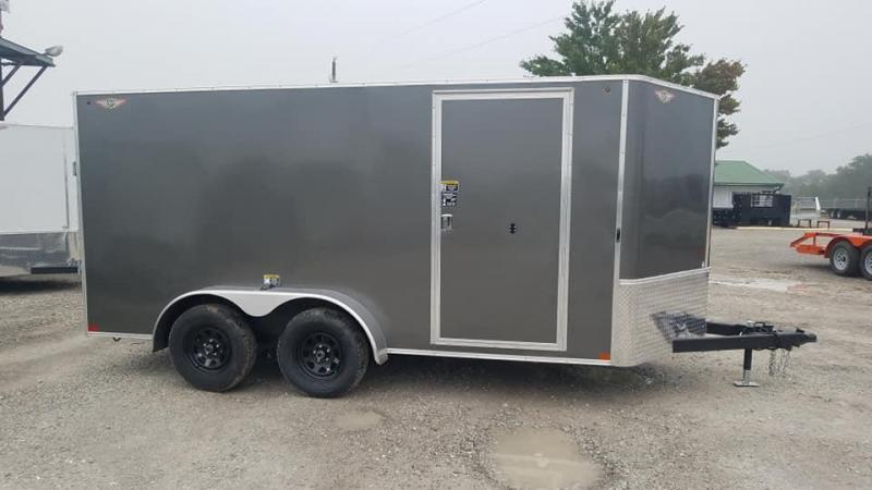 2021 H and H Trailer H8414TFTV-070 Enclosed Cargo Trailer
