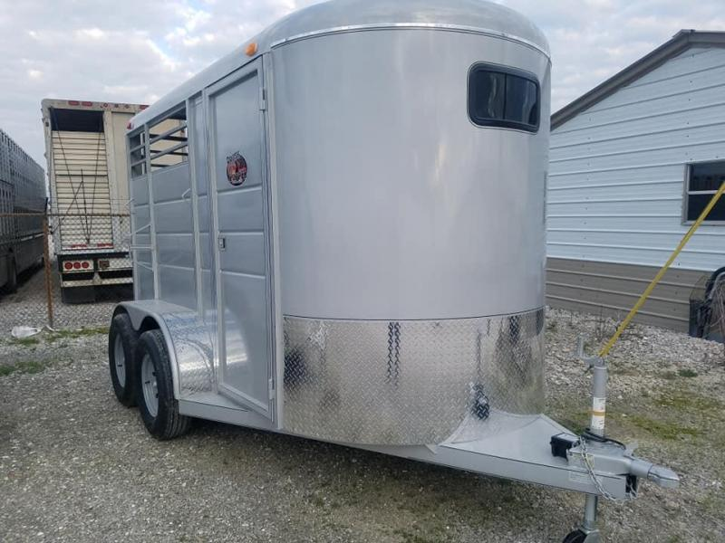 2020 Maxwell BrushPopper 2 Horse Trailer