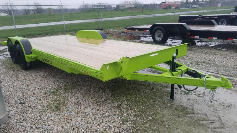 2021 Maxwell TA Flatbed Car / Racing Trailer