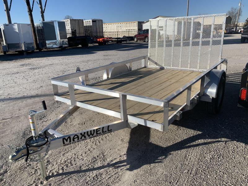 2021 Maxwell Railed Side Utility Trailer*