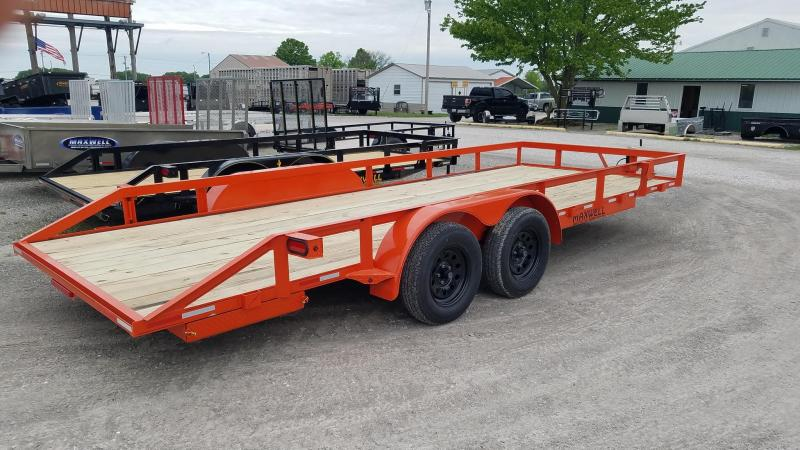 2021 Maxwell TA Deluxe Utility Trailer