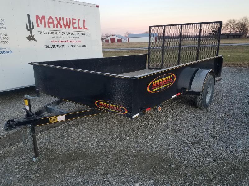 """2018 Maxwell 83""""X12' Utility Trailer"""