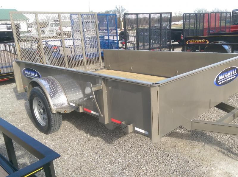 2021 Maxwell SA Solid Side Utility Trailer*