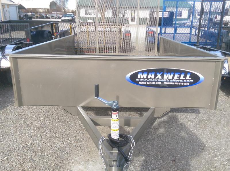 2021 Maxwell SA Solid Side Utility Trailer**