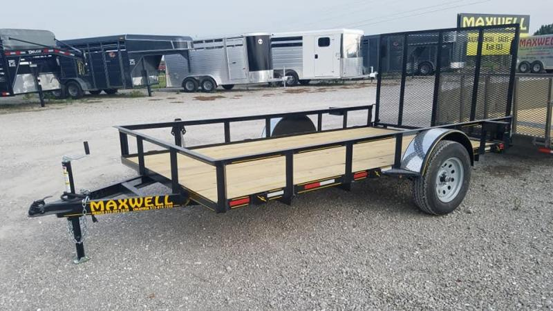 2021 Maxwell Single Axle Utility Trailer