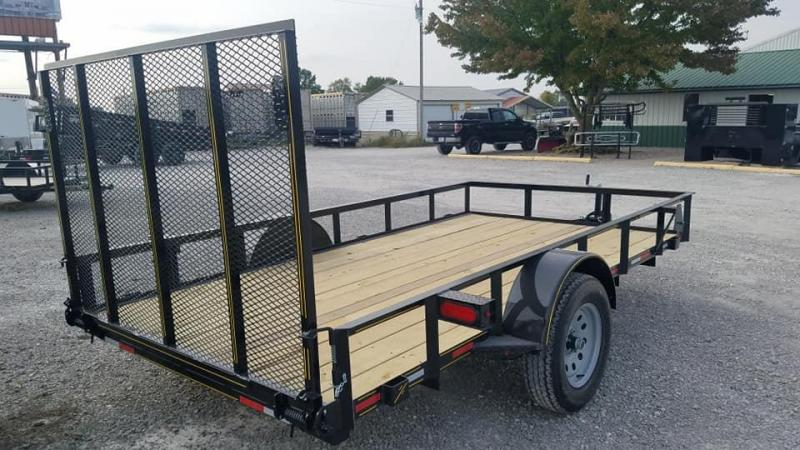 2021 Maxwell Single Axle Utility Trailer**