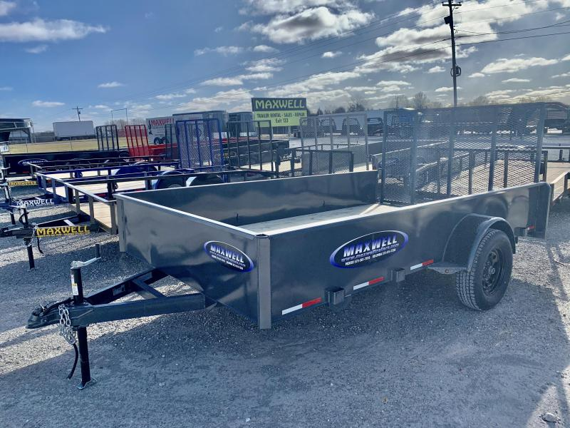 2021 Maxwell SA Solid Side Utility Trailer