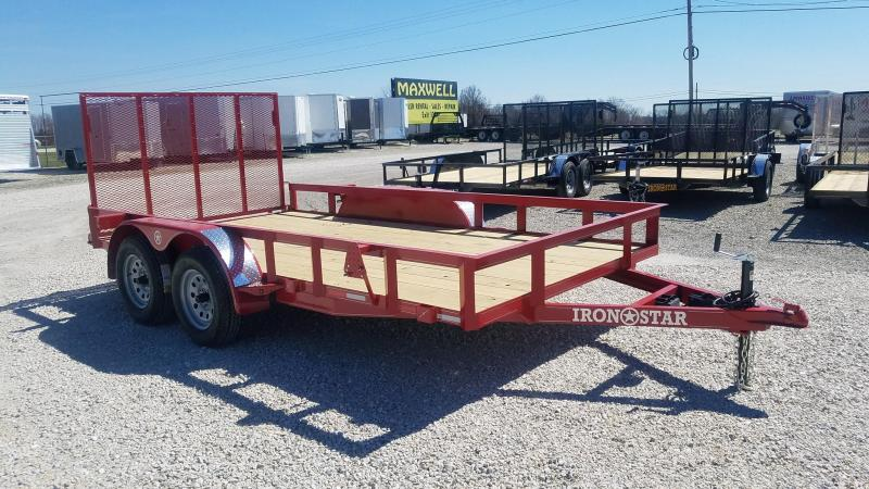 2021 Maxwell Ironstar TA Deluxe Utility Trailer