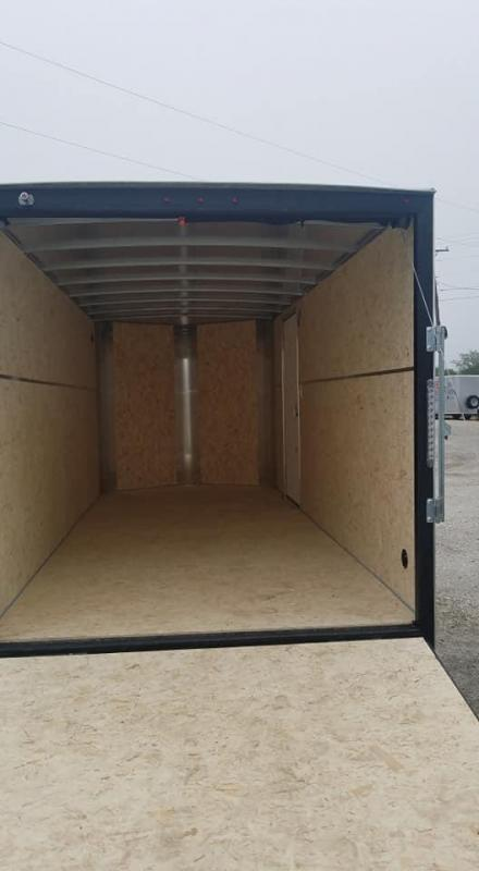 2021 H and H Trailer Tandem axle Enclosed Cargo Trailer