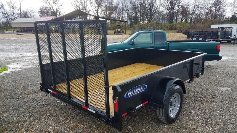 2020 Maxwell SA Solid Side Utility Trailer**