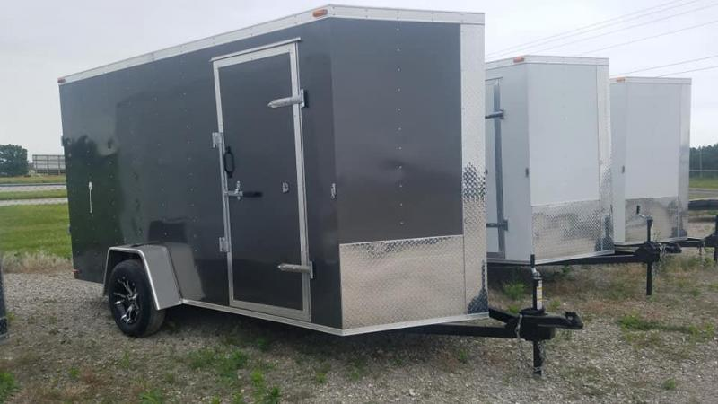 2020 Maxwell SA Enclosed Cargo Trailer