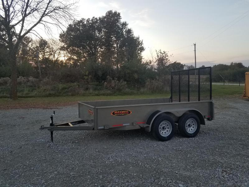 2020 Maxwell 12' solid side Utility Trailer