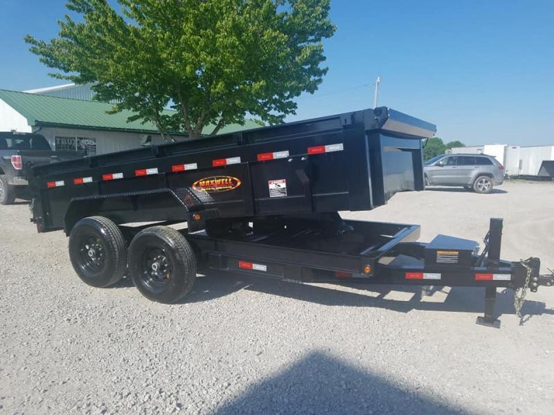2021 Maxwell DC Bumper Pull Dump Trailer