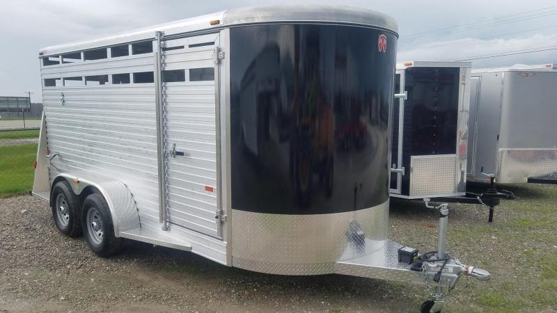2021 W-W Trailer BP All Aluminum Livestock Trailer