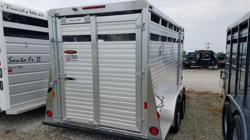 2021 W-W Trailer BP All Aluminum Livestock Trailer