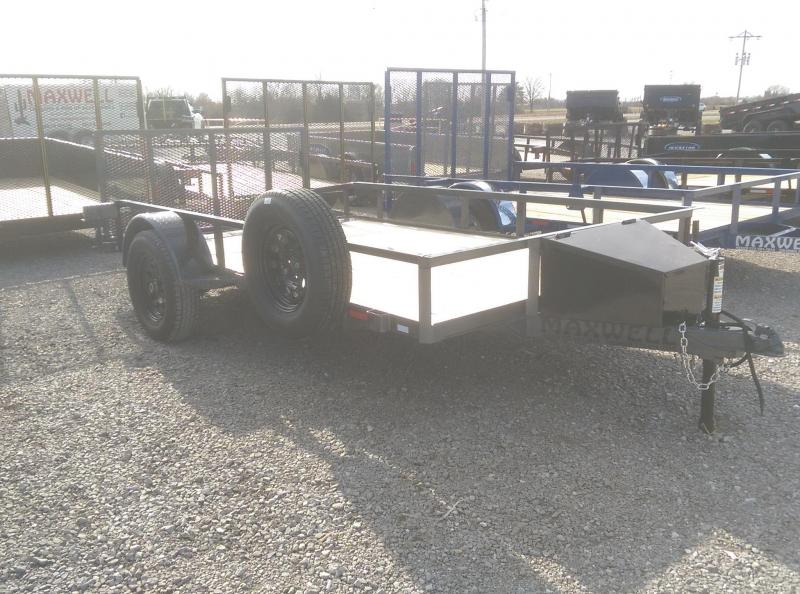 2021 Maxwell RAILED DOVETAIL UTILITY Utility Trailer