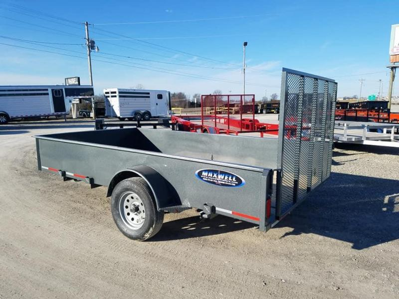 2020 Maxwell SA Solid Side Utility Trailer