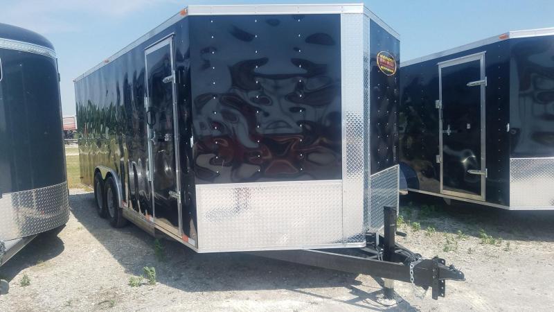 2021 Maxwell TA V-Nose Enclosed Cargo Trailer