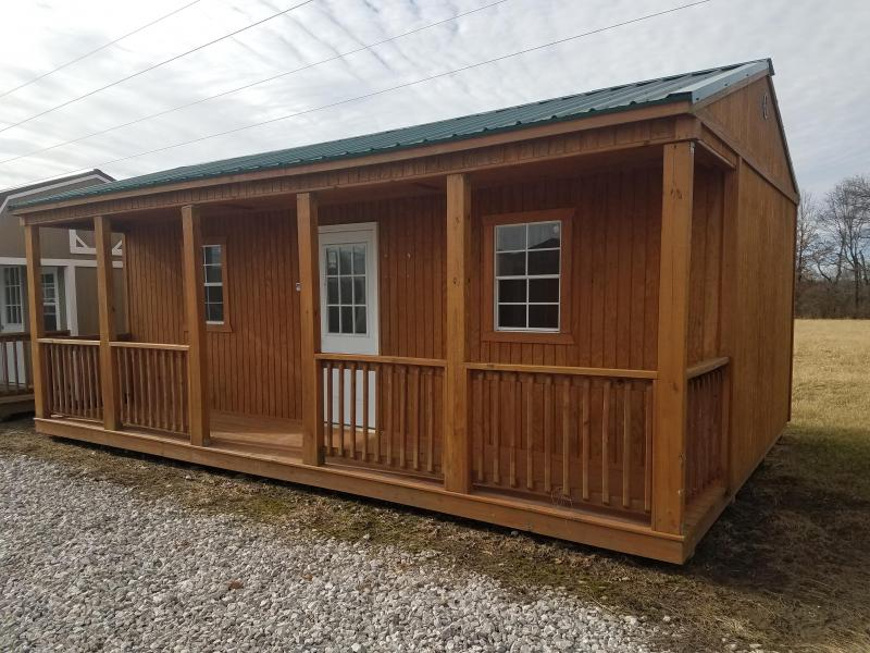 2015 Graceland Portable Buildings 16X24 Side porch Cabin