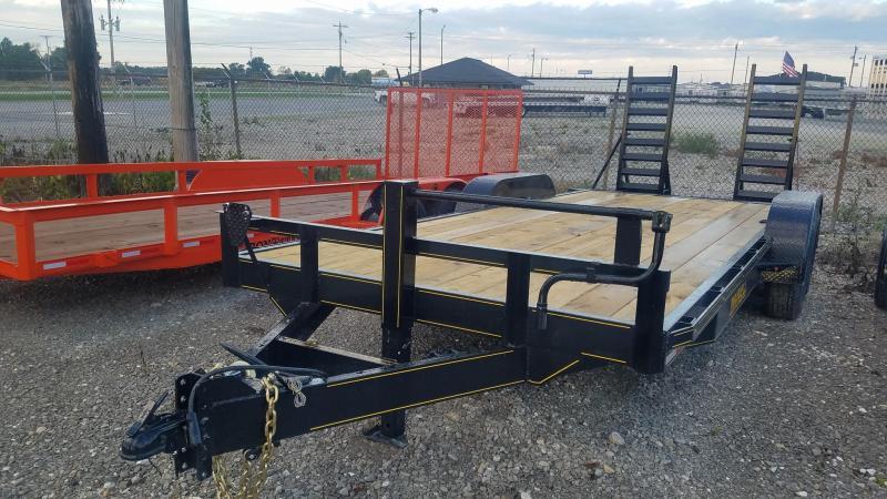 2022 Maxwell Ta Skid Steer Equipment Flatbed Trailer**
