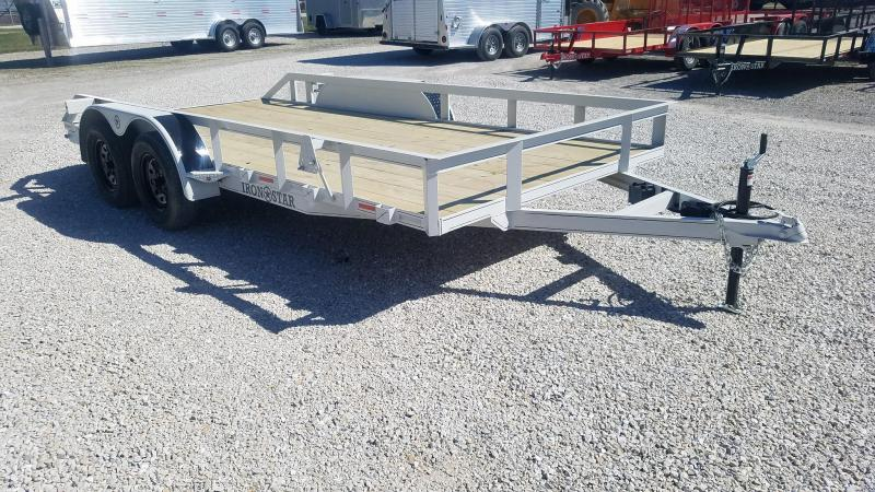 2021 Maxwell TA DLX railed Utility Trailer