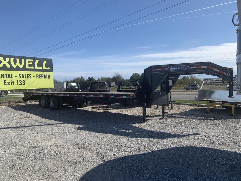2021 Delco Trailers Goose Neck Equipment Flatbed