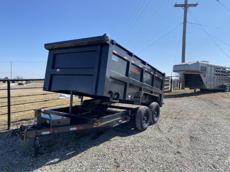 2021 Maxwell DC 16' High Side Dump Trailer**