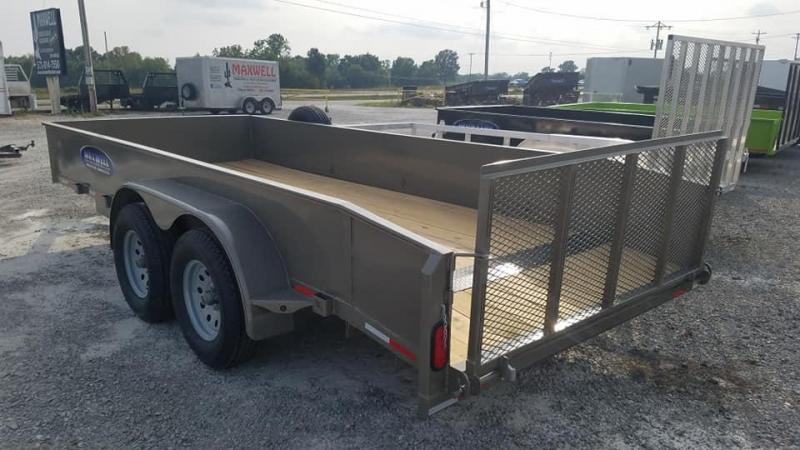 2021 Maxwell solid side Utility Trailer