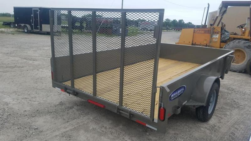 2020 Maxwell Solid Side Utility Trailer