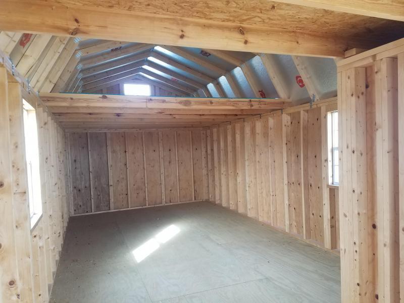 2017 Graceland Portable Buildings 12X32 Lofted Cabin