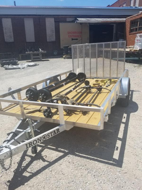 2020 Maxwell Railed Utility Trailer