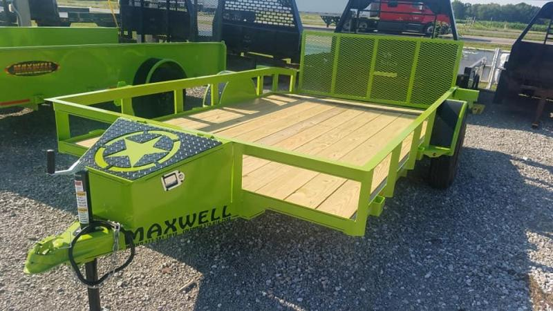 2020 Maxwell SA Railed Utility Trailer