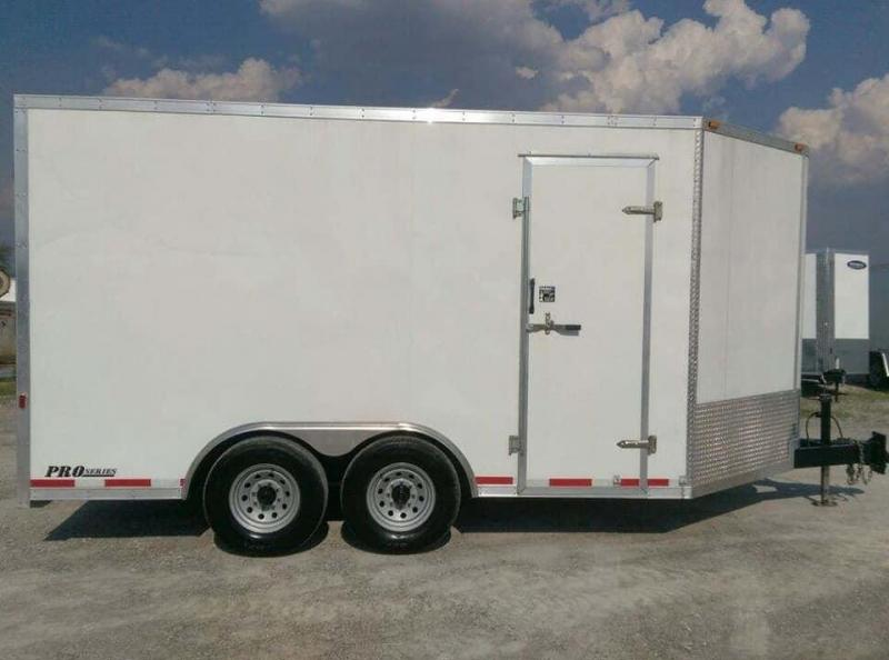2008 Cargo Express HD Pro Series Enclosed Cargo Trailer
