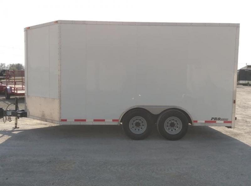 2008 Cargo Express HD Pro Series Enclosed Cargo Trailer