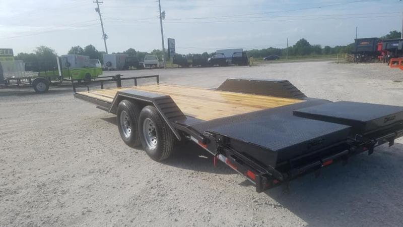 2021 Maxwell DC Bumper pull Flatbed Trailer