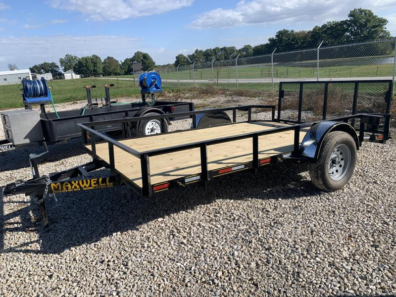 2021 Maxwell Railed Utility Trailer