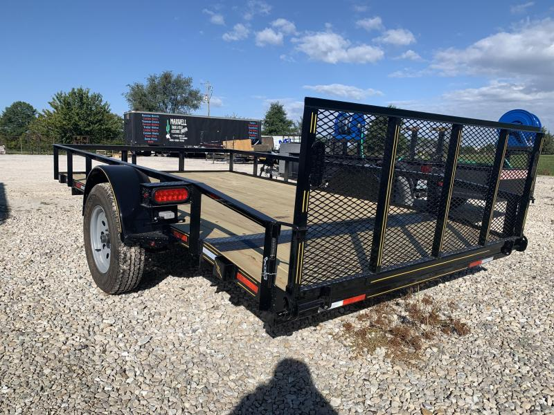 2021 Maxwell Railed Utility Trailer