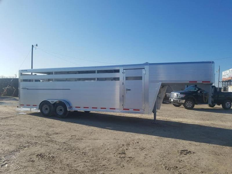 2022 Hillsboro Industries Endura Livestock Trailer